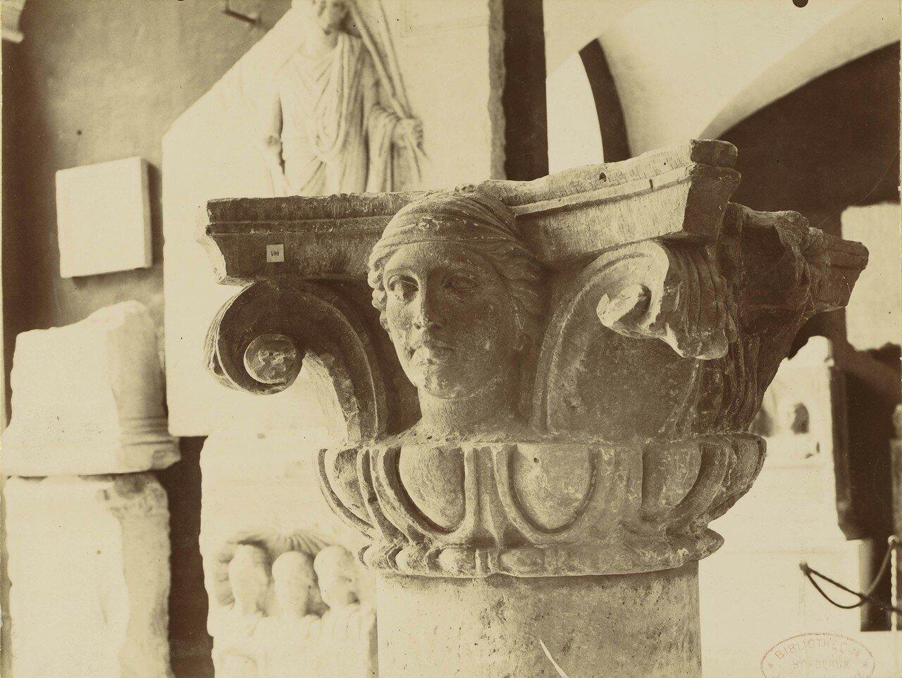 1886. 11. Фрагмент колонны