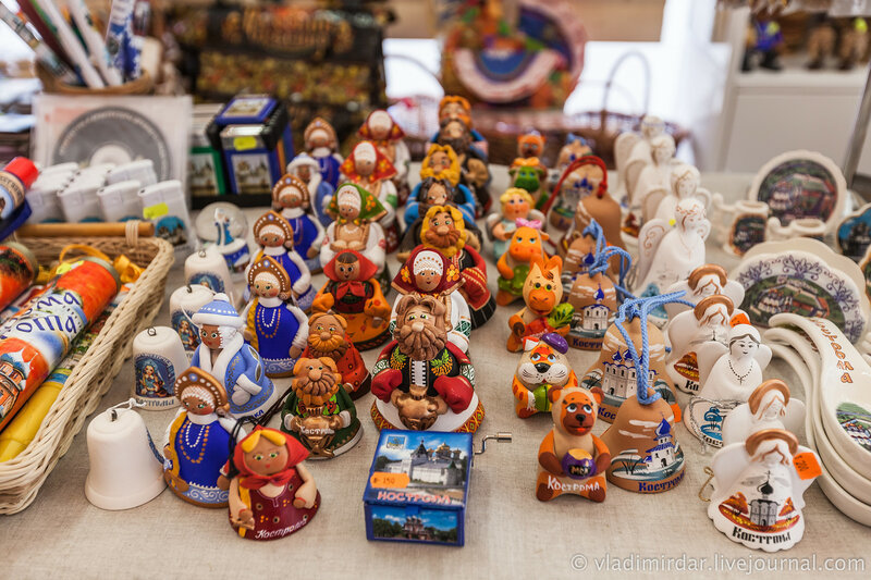 Сувениры из Костромы
