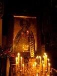 Икона. В храме Свято-Троицкого монастыря (Джорданвилль, США)
