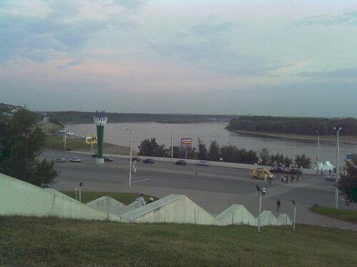 Уфа. Вид на реку Белая