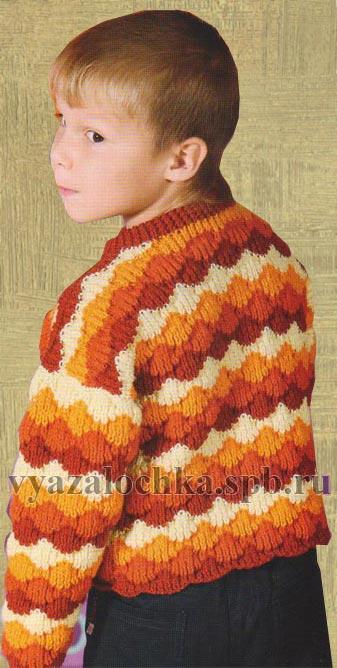 свитер джемпер для мальчика 6