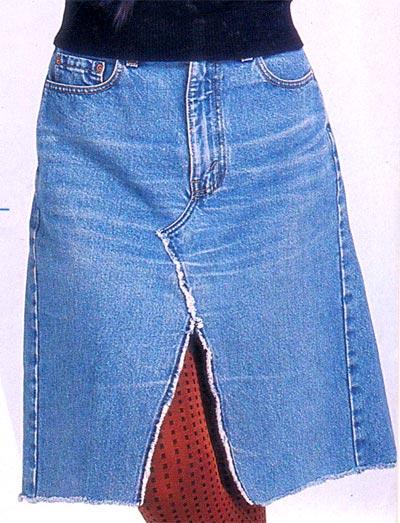 Как сшить юбку из старых джинсов, цветы ткани выкройки.