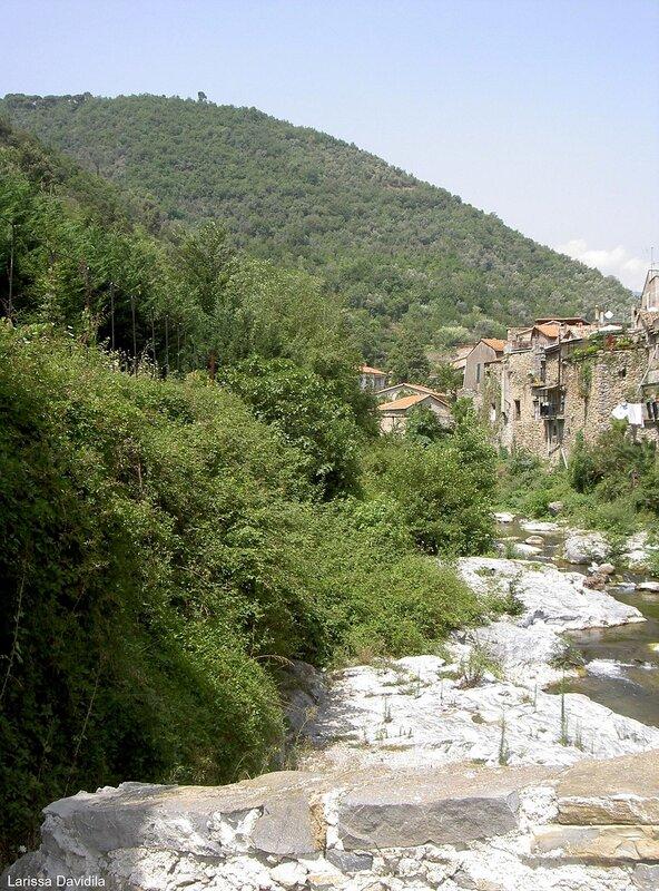 Савона. Средневековый город.