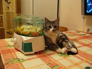 Скоро ужин будет, а я пока косточки свои погрею