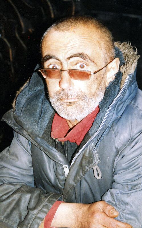 Миша Дидусенко, незадолго до смерти. фото Эргали Гера