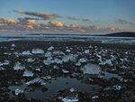 Игольчатый лёд - разрушение