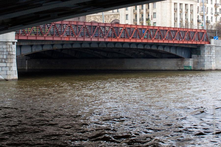 Малый Устьинский мост, устье реки Яузы