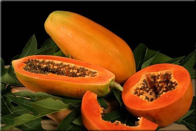 папайя, фрукт, фото