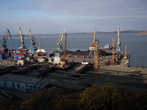 морской порт Анадыря