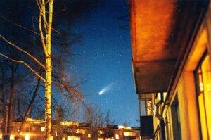 Комета Хейла-Боппа, 1997 © Алексей Донской