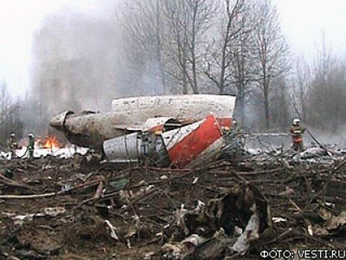 Самолет президента Польши разбился в Смоленской области: выживших нет (ФОТО,ВИДЕО)
