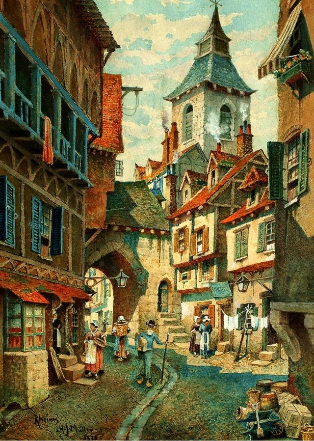 замбаити, это города средневековья картинки активно сотрудничает