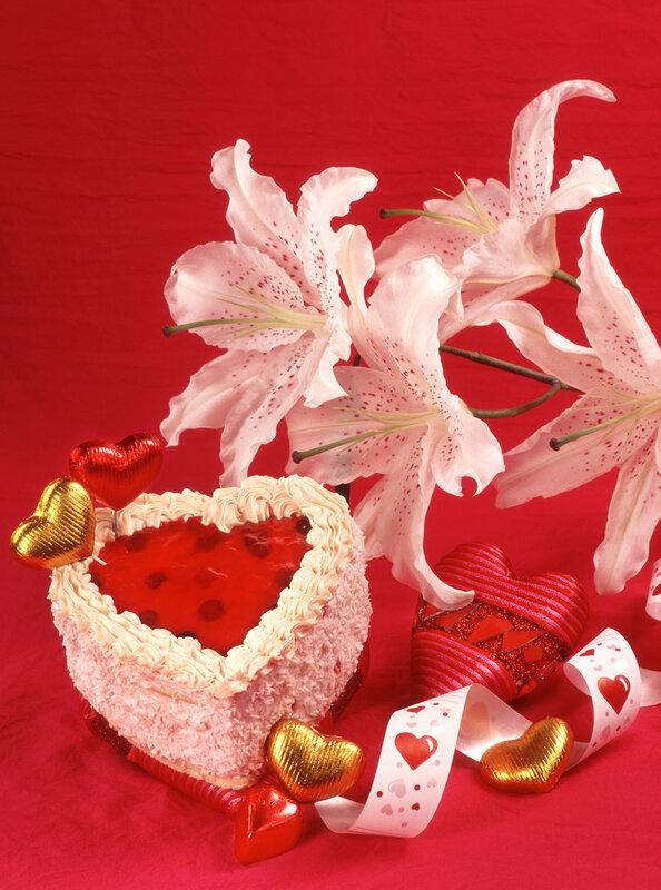 Очень красивые фоны-Валентинов День,Цветы