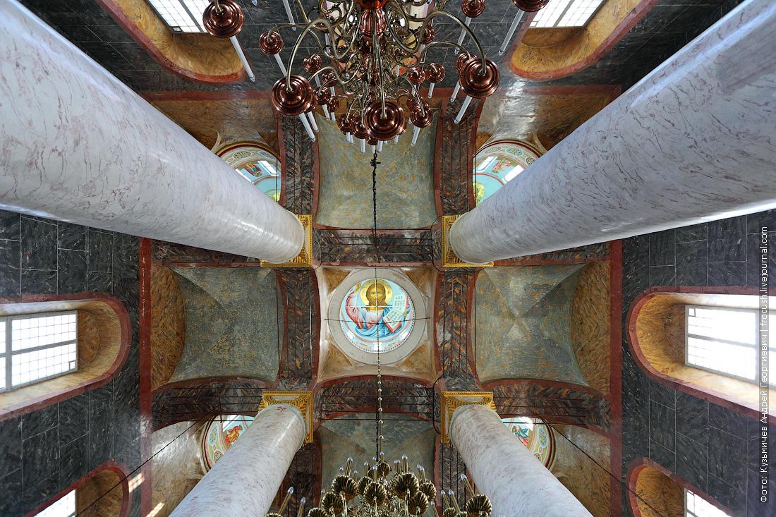 Посетили Успенский кафедральный собор