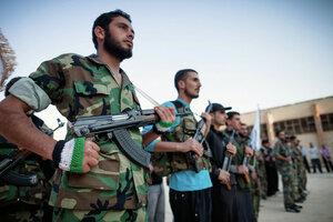 «Свободная сирийская армия» получила на вооружение ракеты