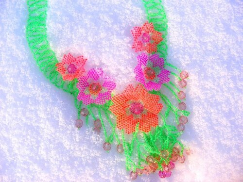 41.Тропические цветы