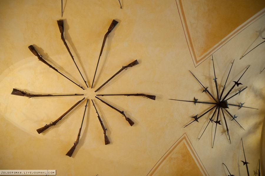 ружья в чешском замке детенице