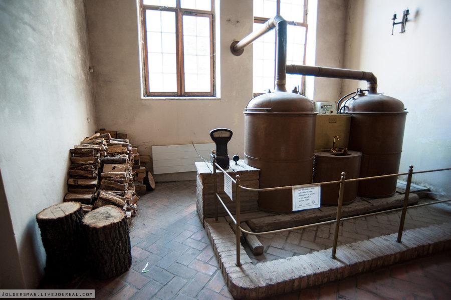 старинная пивоварня