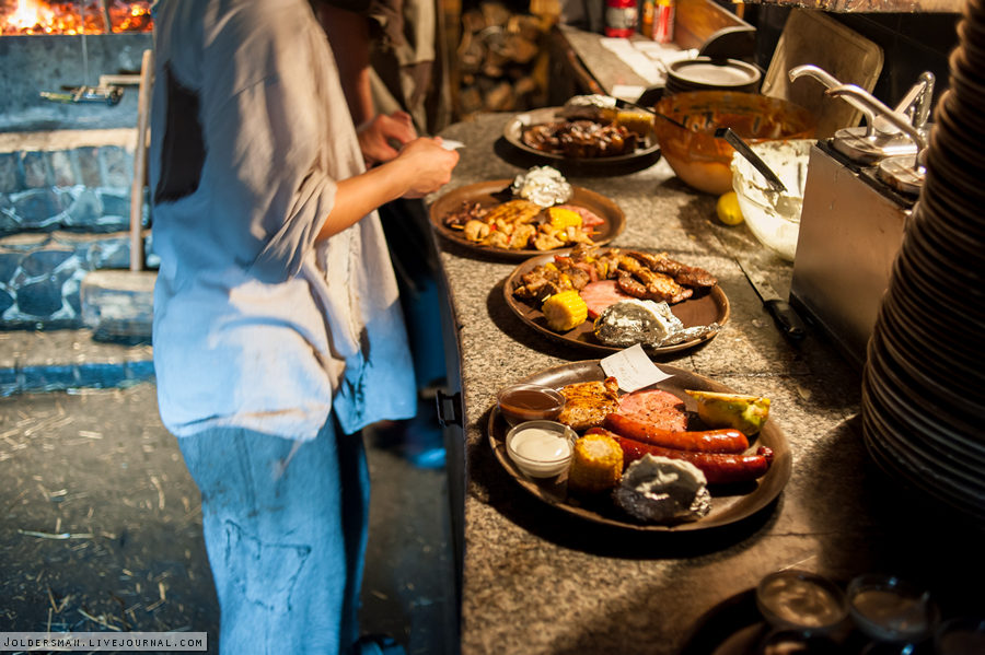 чешская кухня в Детенице