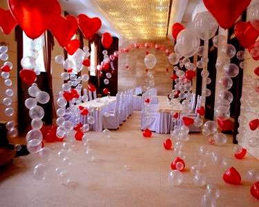 Аэродизайн свадьбы