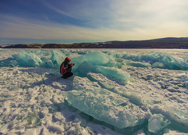 В голубых льдах