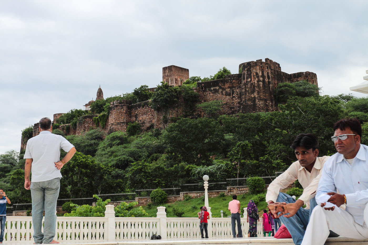 Фото 27. Крепость Дунги. Отчет об экскурсии в Джайпур.