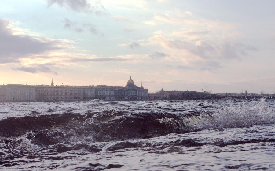 В Петербурге наводнение фото