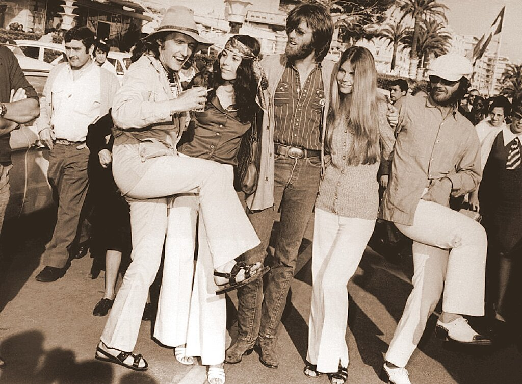 Dennis Hopper, Peter Fonda, Jack Nicholson