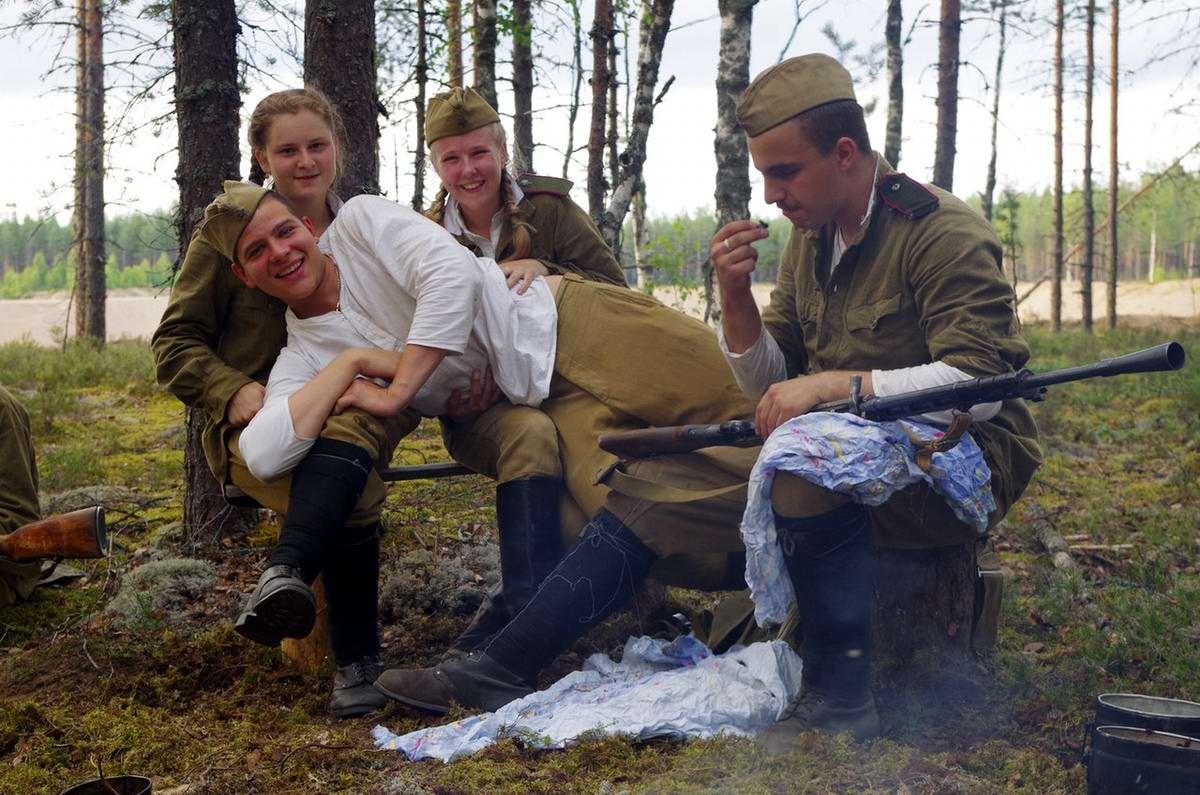 Забавные моменты из жизни военных реконструкторов (66)