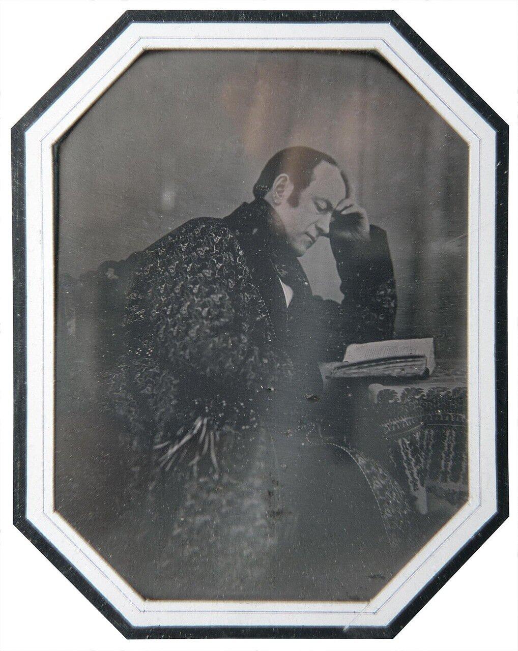 Портрет графа Алексея Алексеевича Бобринского-старшего. 1842