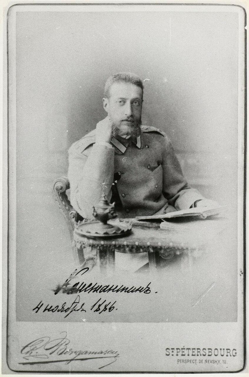 1886. Великий князь Константин Константинович