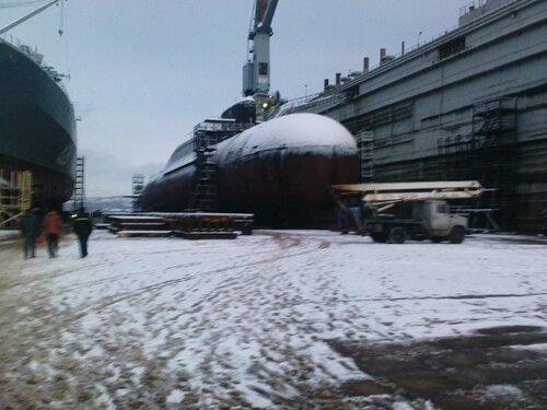 "Подробности пожара на АПЛ ""Екатеринбург""."