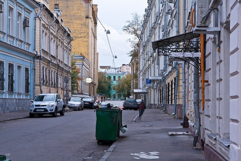 Малый Кисельный переулок