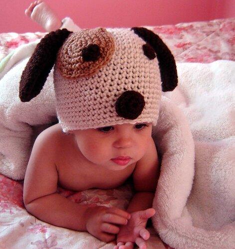 мир вязания вязаные шапочки для малышей