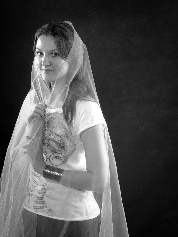 удачные фотографии для портфолио красивой девушки