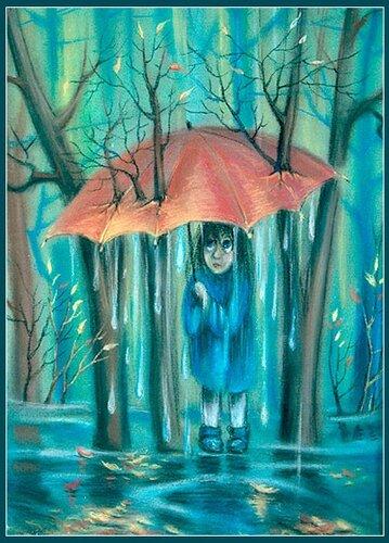 дождь оставляет разводы на