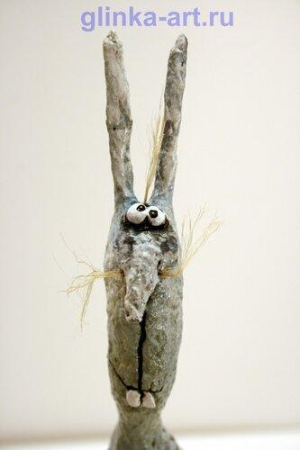 портрет зайца