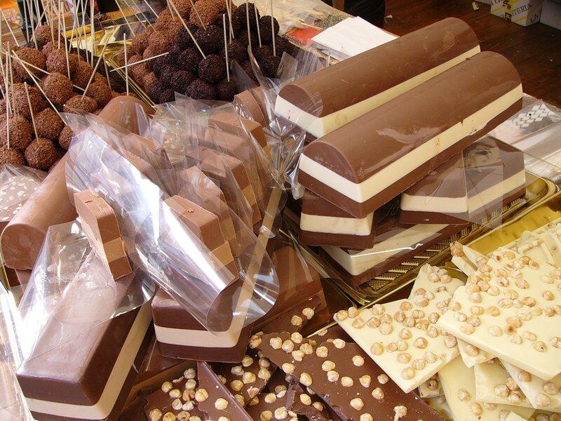 Шоколадные кирпичи