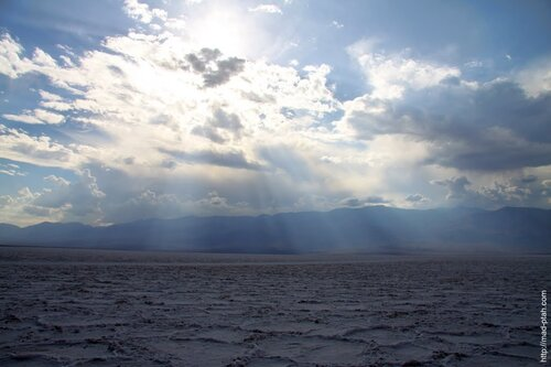 Соляная пустыня в Долине Смерти