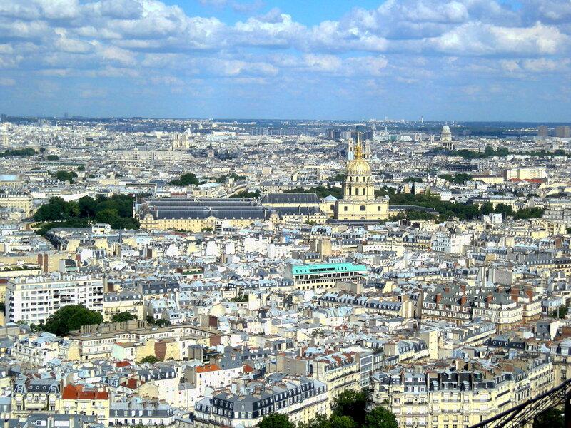 Париж. Вид на Дом Инвалидов