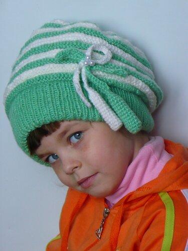 Летние вязанные шапочки,  шляпки и косынки 0_465ea_f0b5b9ad_L