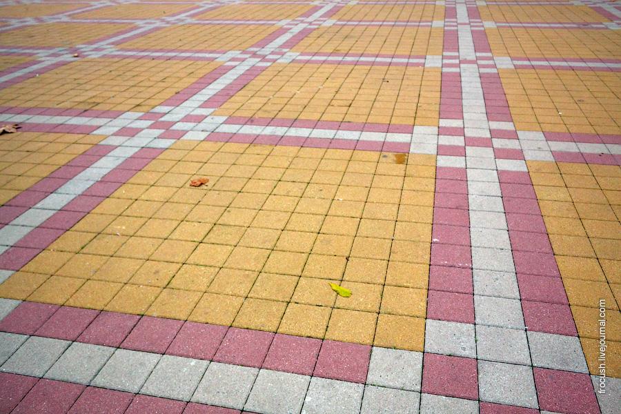 Сочинская дорожная плитка