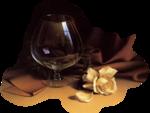 Шампан�кое,коктейли в бокалах-PNG