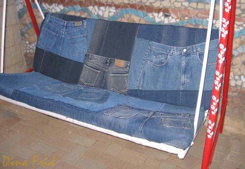 0 42ce6 139214ee L Мастер класс: делаем новые качели из старых джинсов