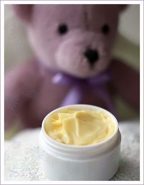 Лавандовый детский крем