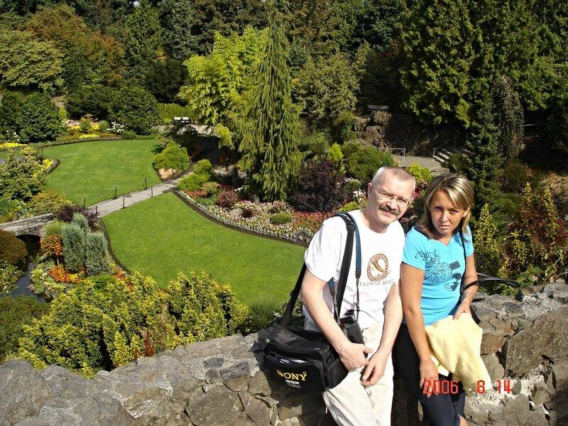 Ванкувер. Уютный парк Элизабет.