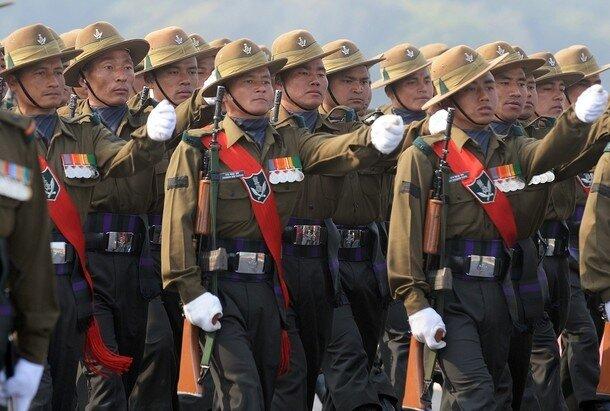 Indian Army's 3 Gorkha Rifles Infantry r