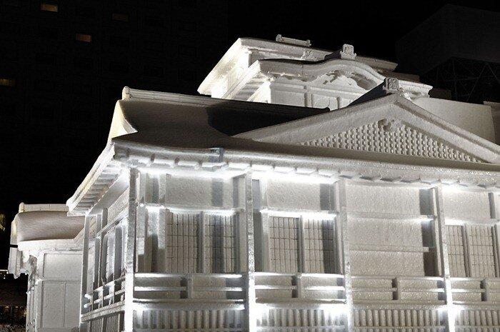 фестиваль ледовых и снежных скульптур