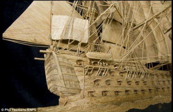 """Все самое Интересное в Блогах """" деревянные модели кораблей"""