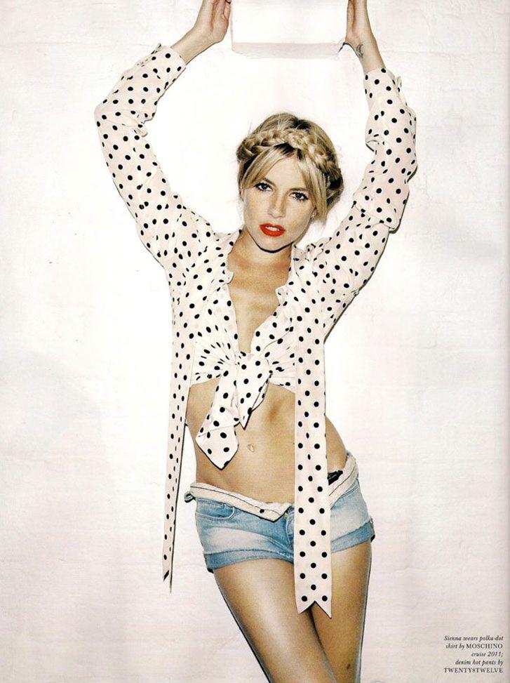 модель Sienna Miller / Сиенна Миллер, фотограф Angelo Pennetta